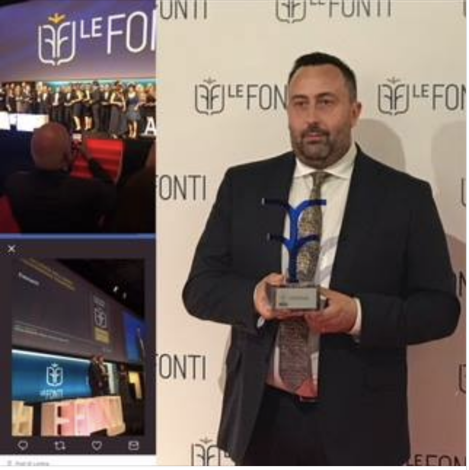 premio le fonti awards 2018 per il foodservice esmach spa big2