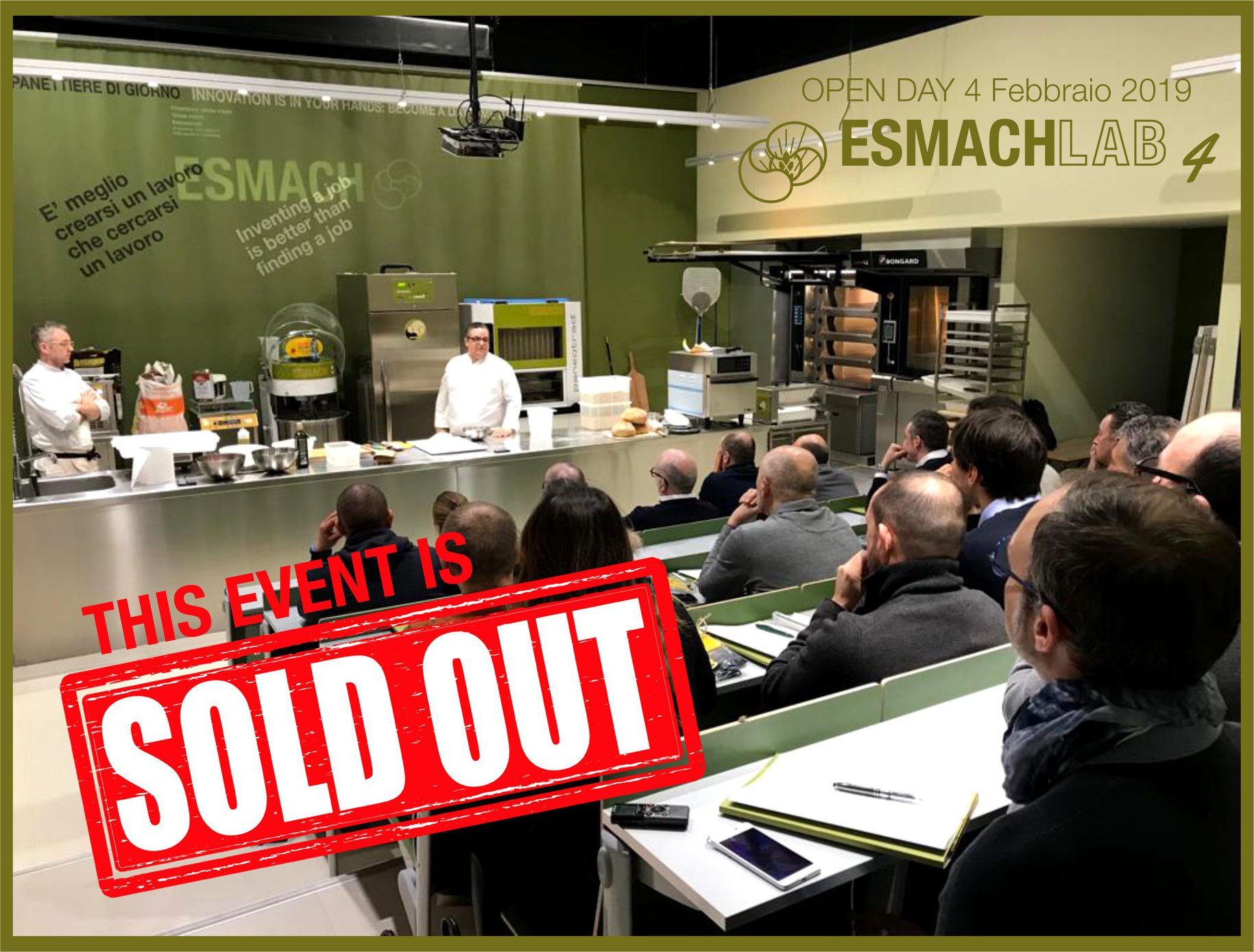 sold out open day esmach2